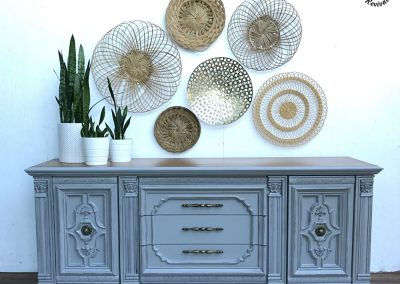 "Vintage Nine Drawer Sideboard Dresser- ""Stella"""