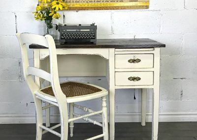 "Rustic Desk and Chair – ""Mavis"""