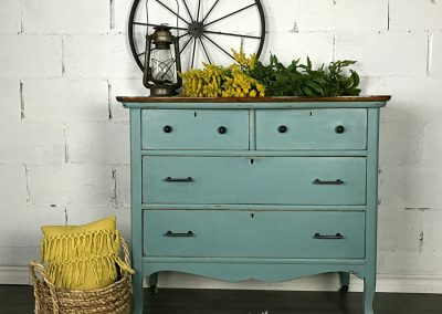 "Rustic Four Drawer Dresser – ""Ailsa"""