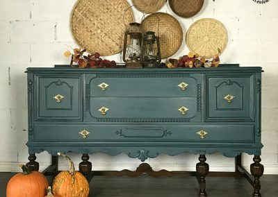 "Large Solid Wood Sideboard – ""Autumn"""