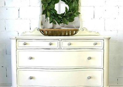 "Antique Mirrored Dresser- ""Eugenie"""